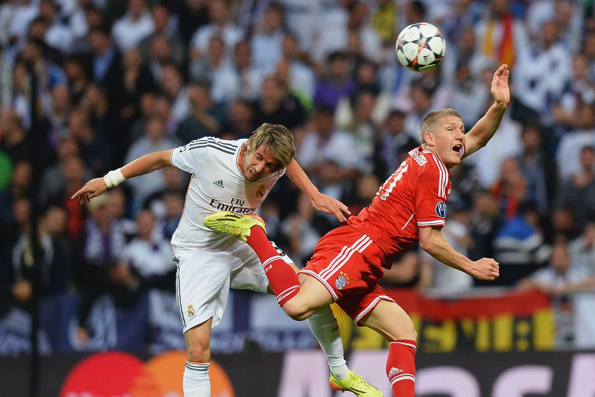 Coentrão had a majestic performance on the left side of defense against Bayern