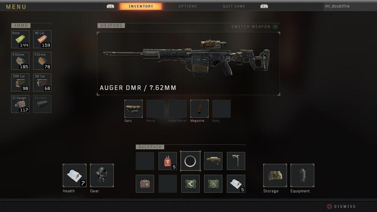 Call of Duty: Black Ops 4 Blackout Auger DMR