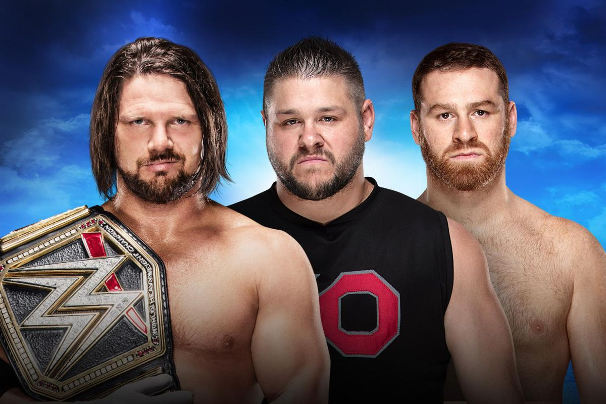 Image result for aj styles royal rumble 2018