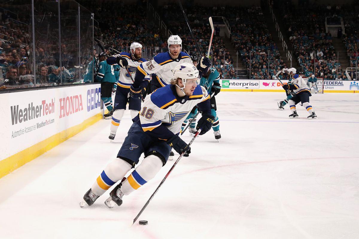 St Louis Blues v San Jose Sharks - Game One