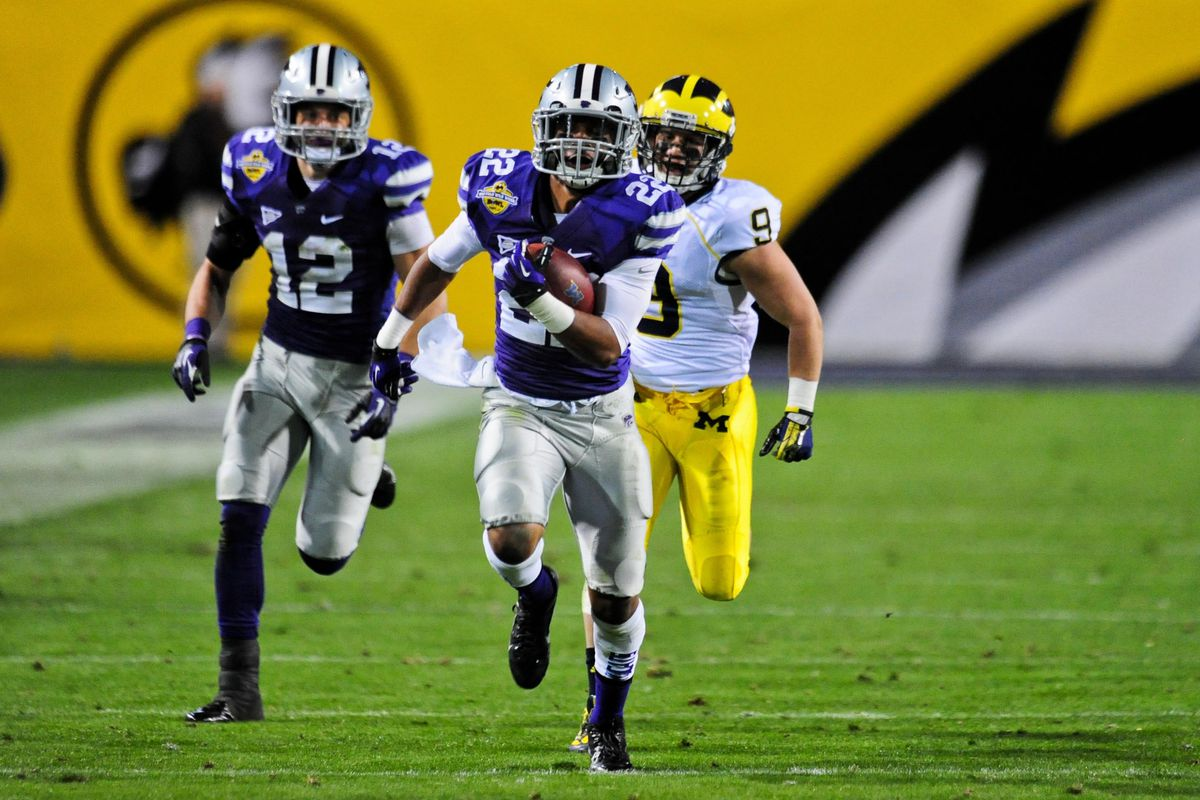 Duke Shelley could be making plays like this one next season at K-State