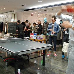 Robert Geller's big ping pong tournament was pretty cool