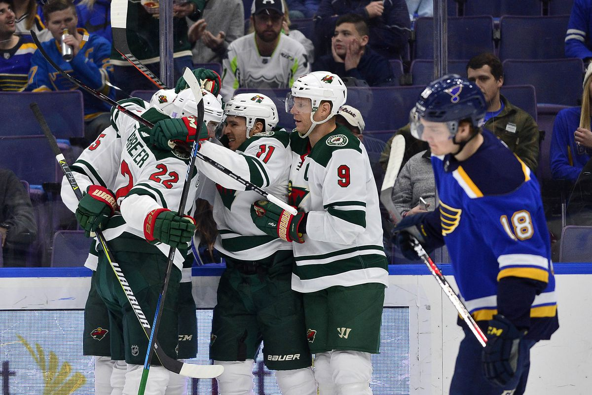 20e29775c 3 Things We Learned after Wild cap 7-game road trip with 3-2 victory over  the Blues