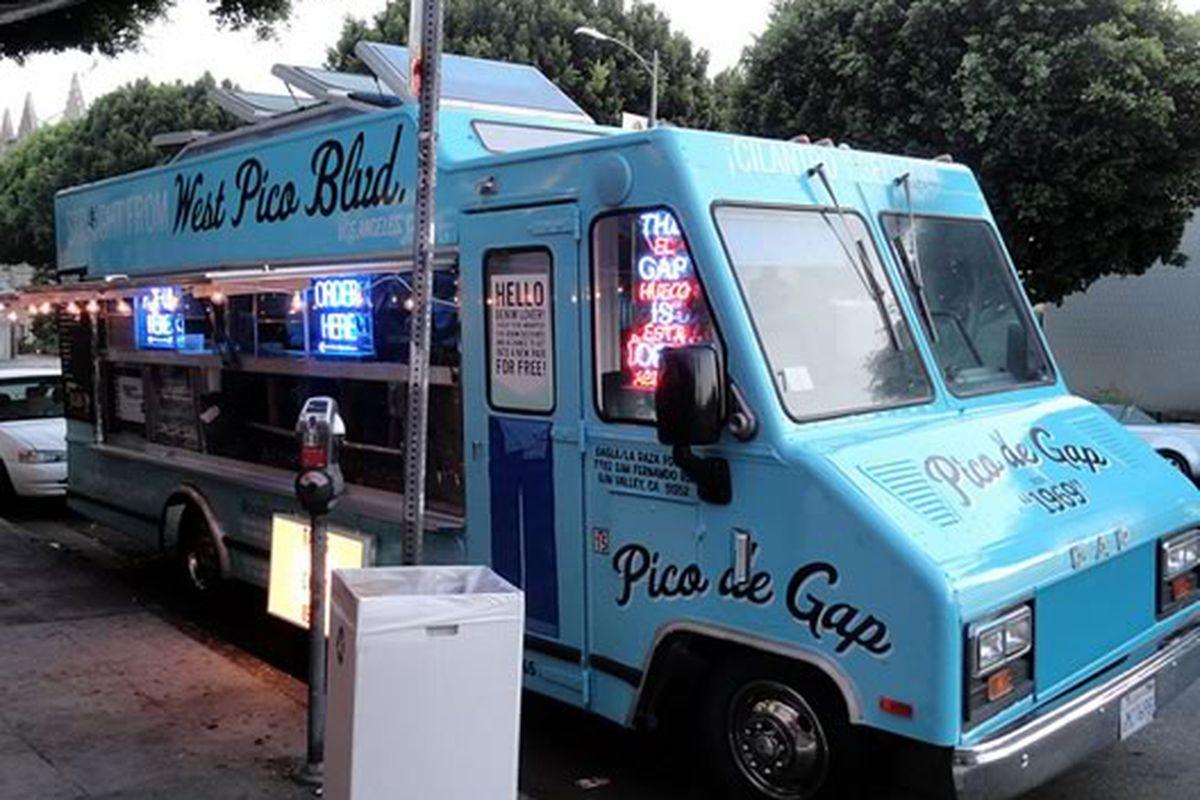 The Pico de Gap Food Truck, Los Angeles