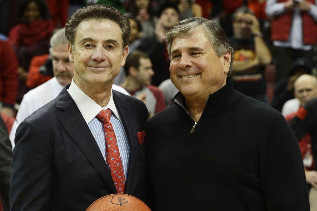 Why is this man smiling? Because all the sports he's in charge of are good. All of them.