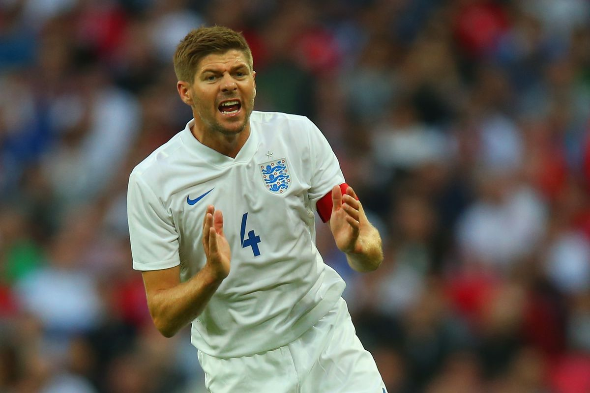 Steven Gerrard will look to inspire England to Group D glory