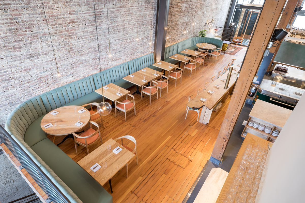 The dining room at Birdsong