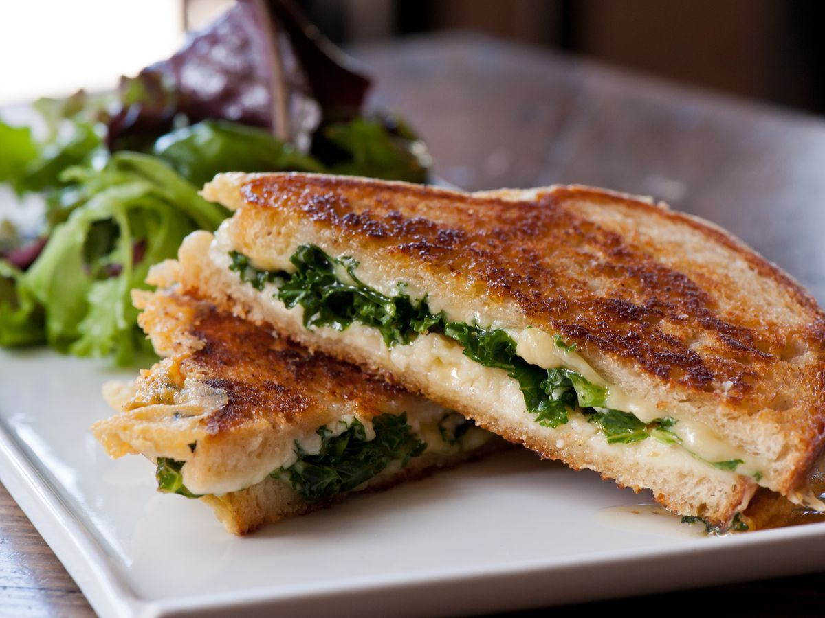 Grilled Cheese Sandwich at the Rind