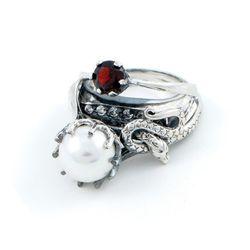 "Iosselliani classic rock stack ring, <a href=""http://shop.iosselliani.com/america/rings/a-41-07-aw.html"">$390.66</a>"