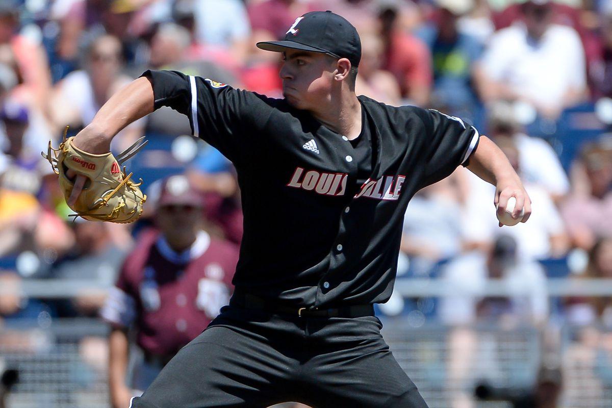 NCAA Baseball: College World Series-Louisville vs Texas A&M