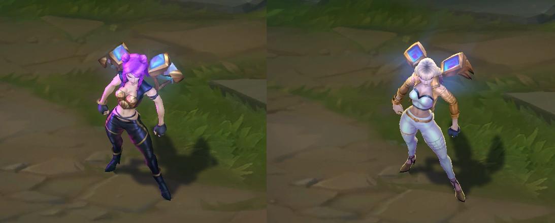 K/DA Kai'Sa comparison