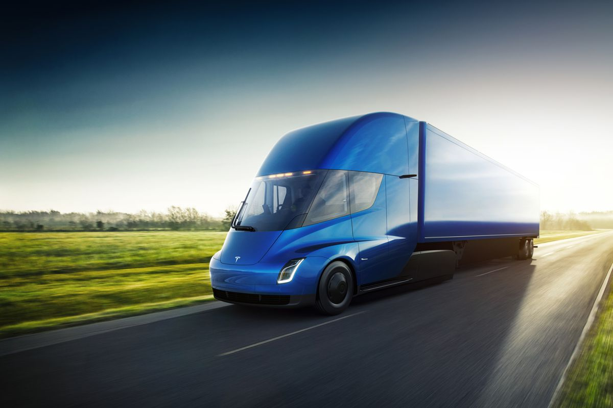 tesla just received its largest preorder of semi trucks yet the verge