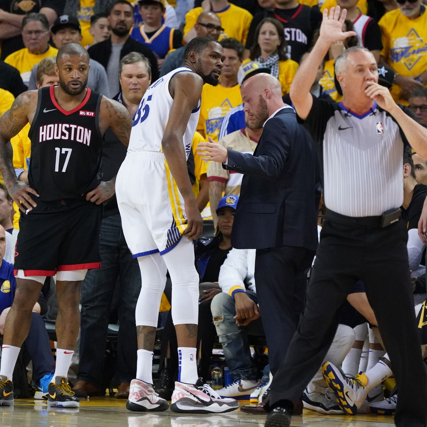 0d3a6f66 Kevin Durant injury could have enormous NBA playoff consequences ...