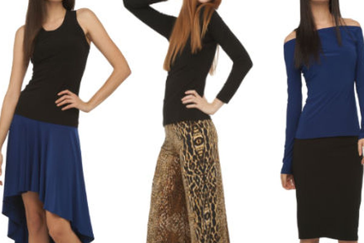 Three looks from the fall KamaliKulture collection