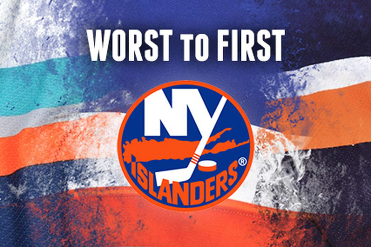 Worst To First Jerseys Series New York Islanders Lighthouse Hockey