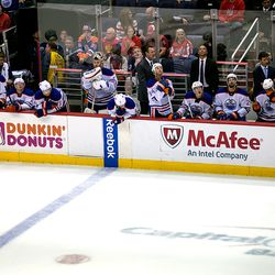 LaBarbera Stands At Bench