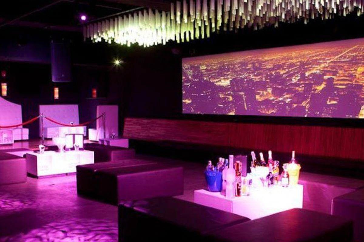 Monroe nightclub space