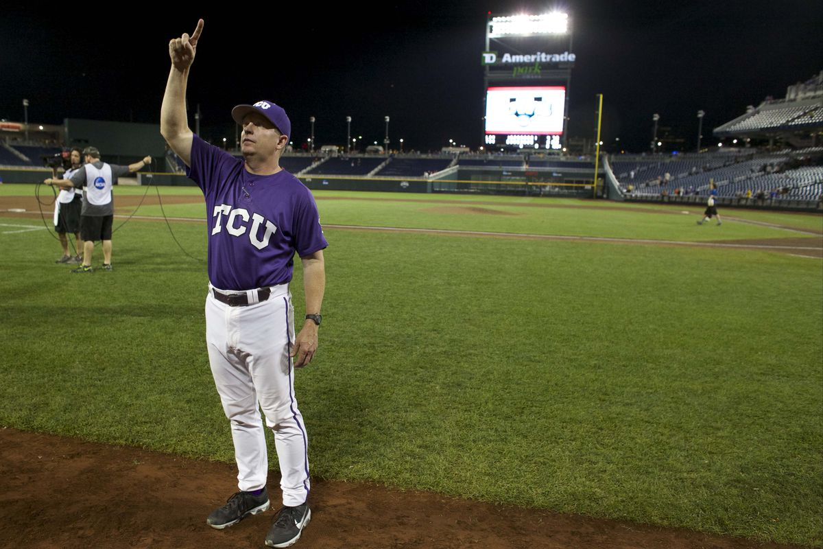 Schlossnagle has agreed in principal to an extension that will keep him at TCU.