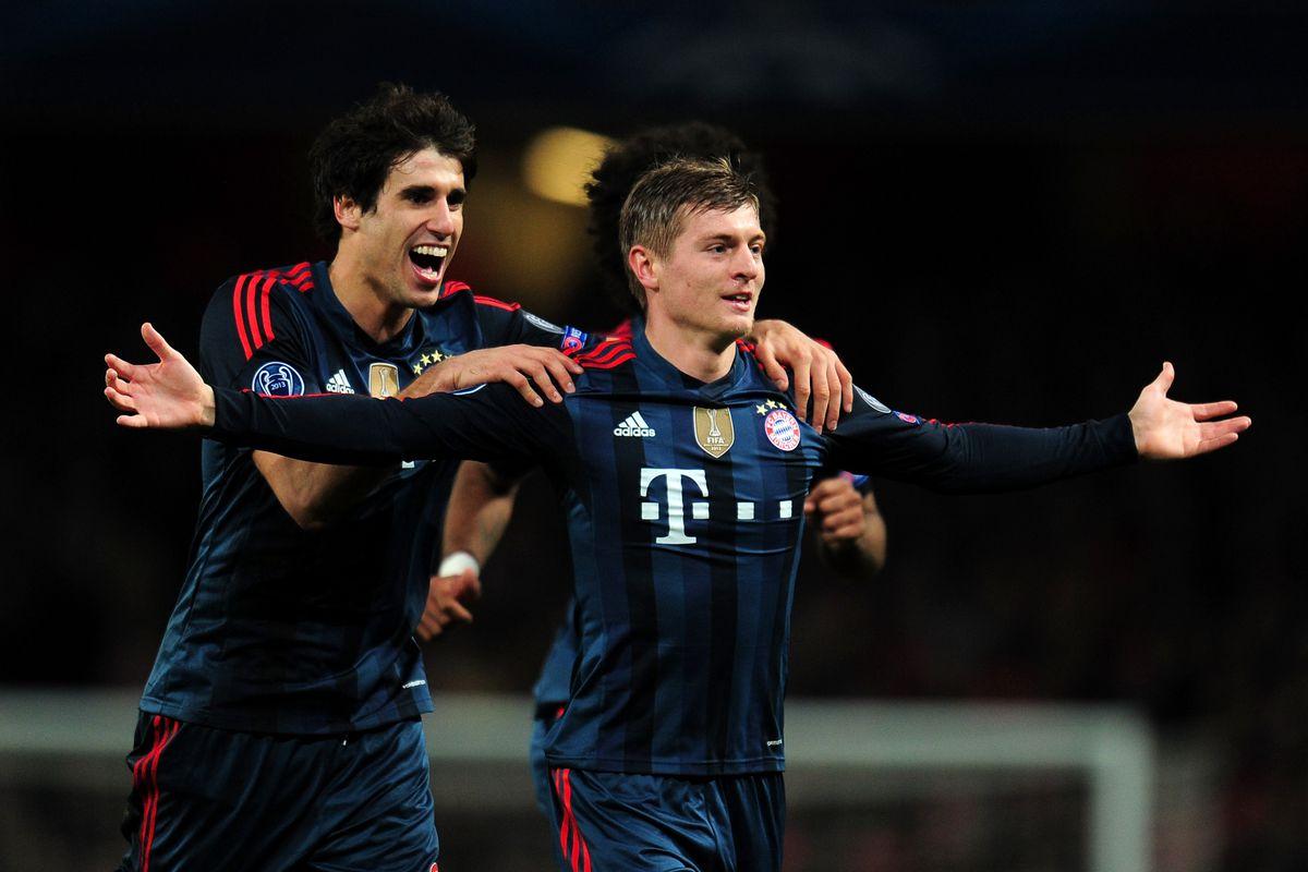 Arsenal v FC Bayern Muenchen - UEFA Champions League Round of 16