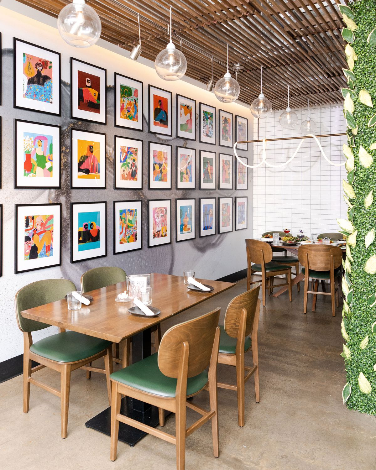 Paraíso gets colorful refresh inside