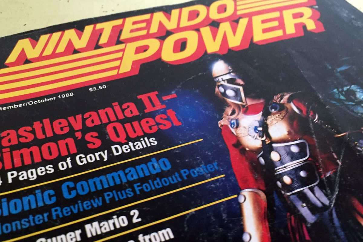 Nintendo takes down Nintendo Power collection from Internet Archive