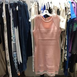 O'2nd mesh patched metallic dress, $118.50 (was $395)
