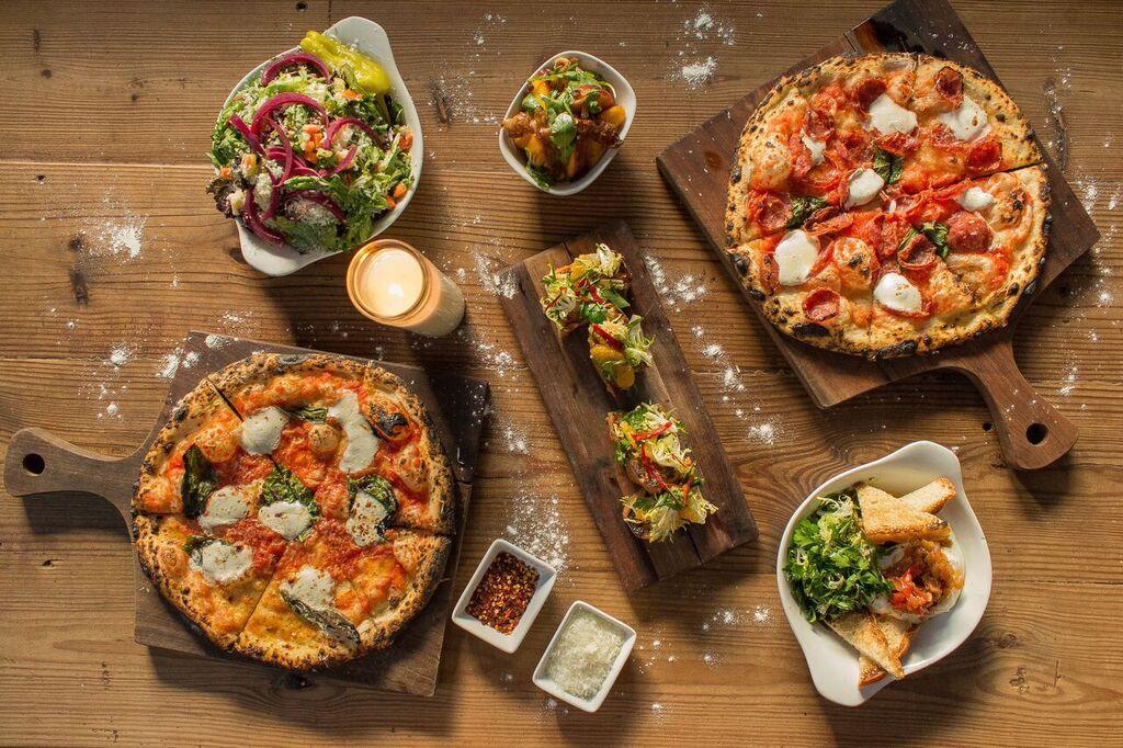 Backspace's pizza