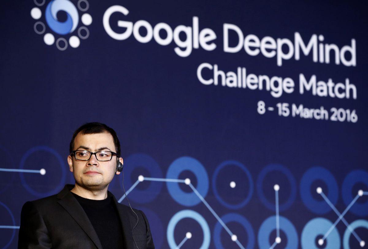 Professional 'Go' Player Lee Se-dol Plays Google's AlphaGo