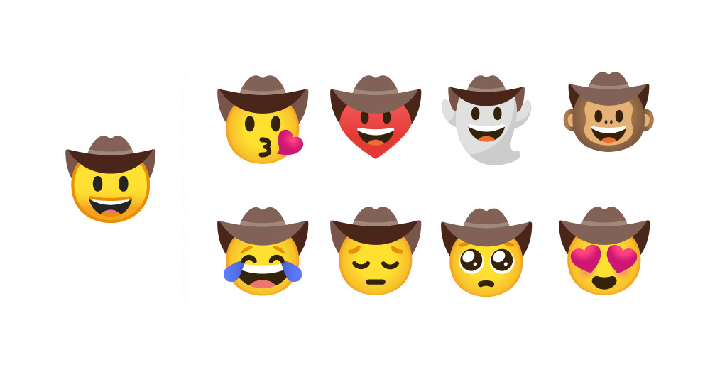 Google brings emoji mashup stickers to Gboard on Android