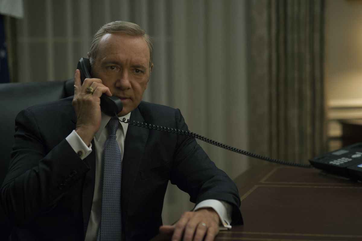 Frank Underwood is back, and he's cranky.