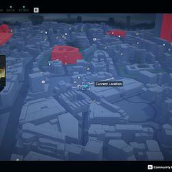 Seam Nightclub Paste-Up map and location