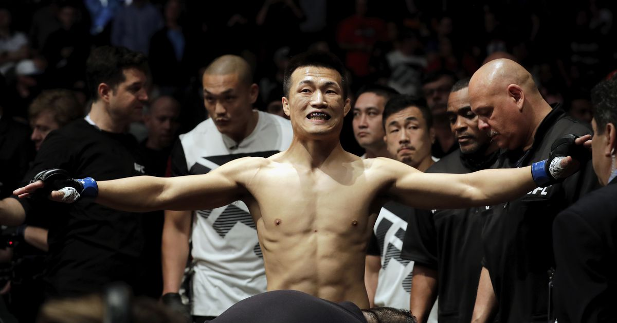 UFC Denver weighing results and video: Korean Zombie 146, Rodriguez 145.5