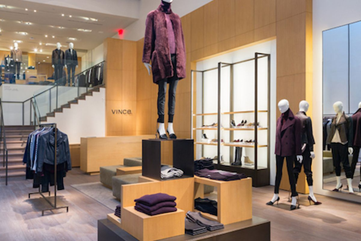 "Inside the <a href=""http://www.vince.com/new-york/mercer/stry/vincemercer"">Mercer Street</a> store"