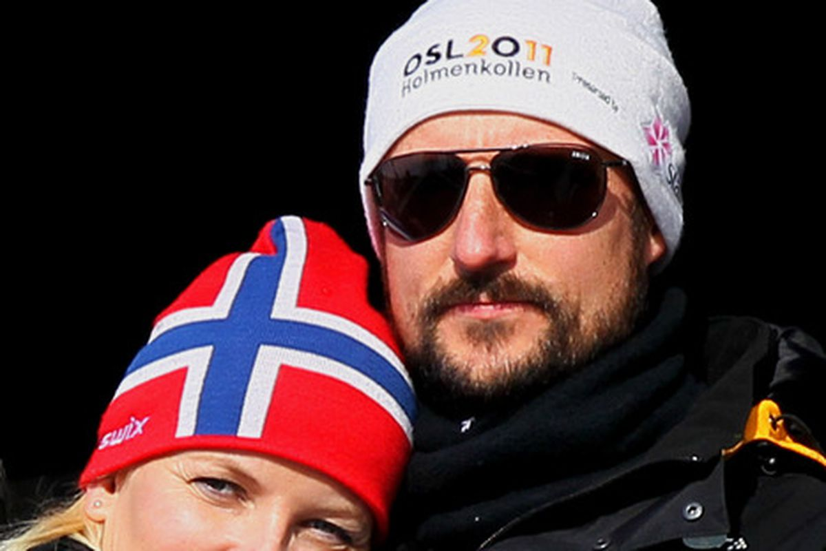 This is a picture of Haakon, Crown Prince of Norway.