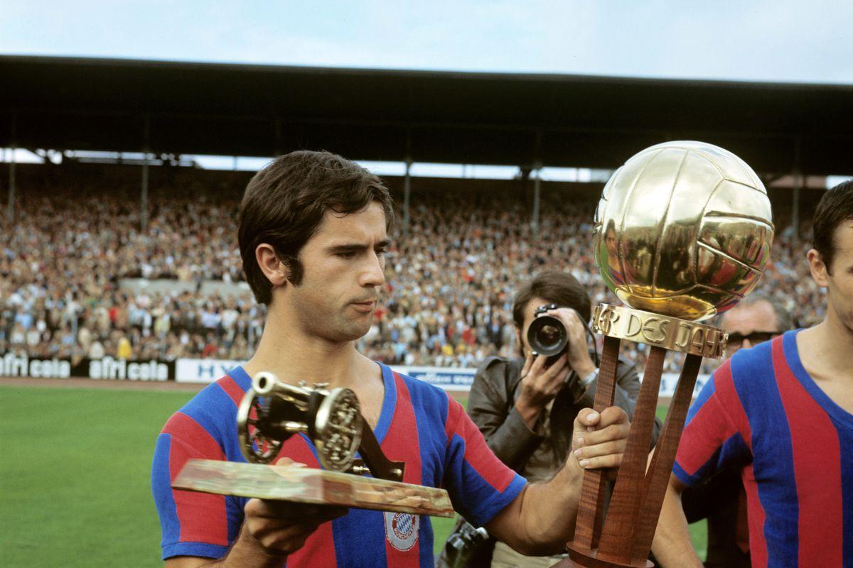 Gerd Müller ist Fußballer und Torschütze des Jahres 1969