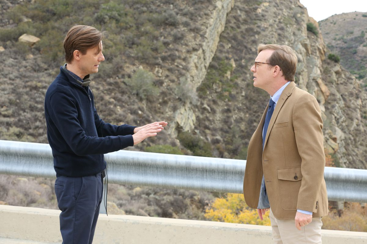 Grant (James Urbaniak) and Forrest (Andy Daly) square off.