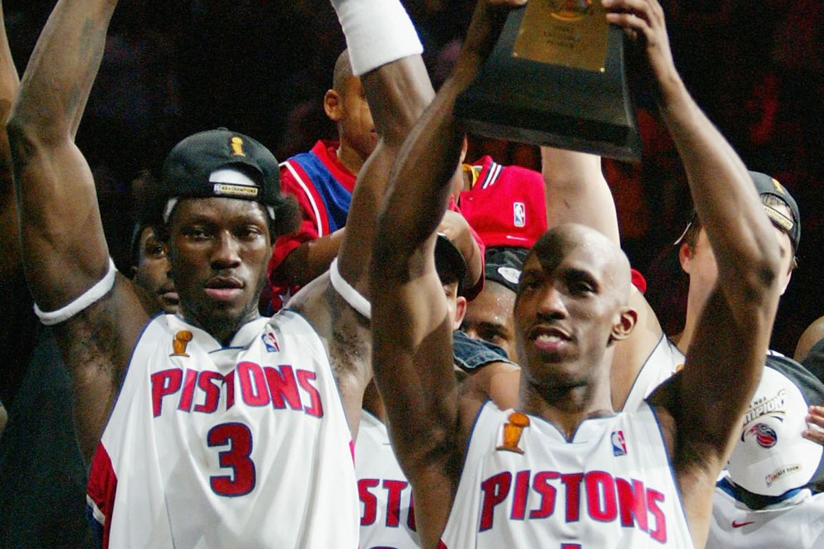 Pistons news Chauncey Billups Ben Wallace numbers to be retired