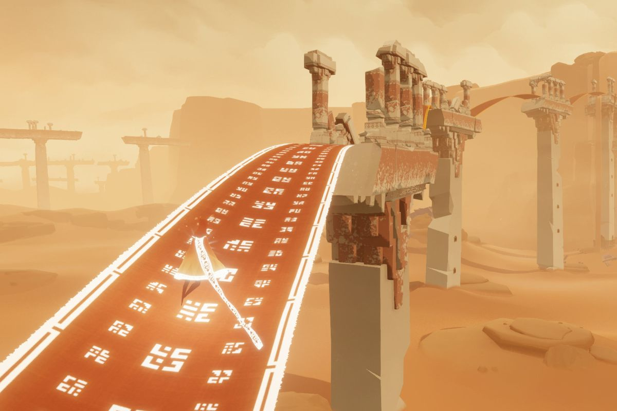 Journey Gets A Surprise Ios Release Polygon