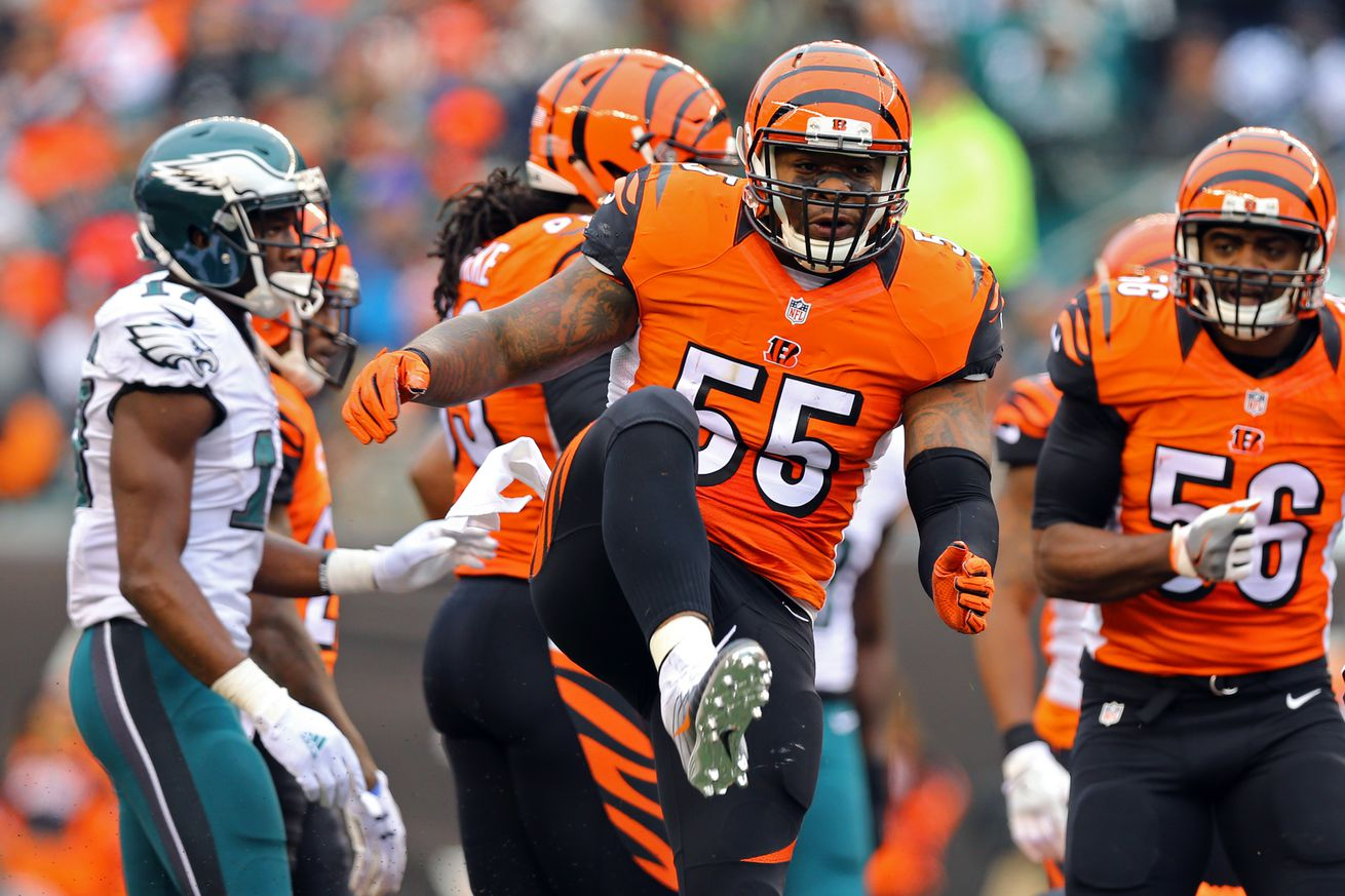 A complete history of Vontaze Burfict being reckless
