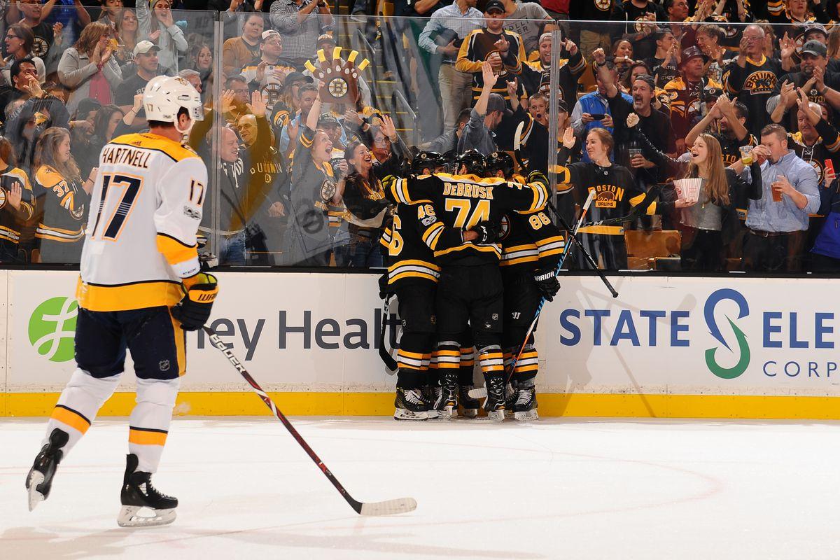 Nashville Predators v Boston Bruins