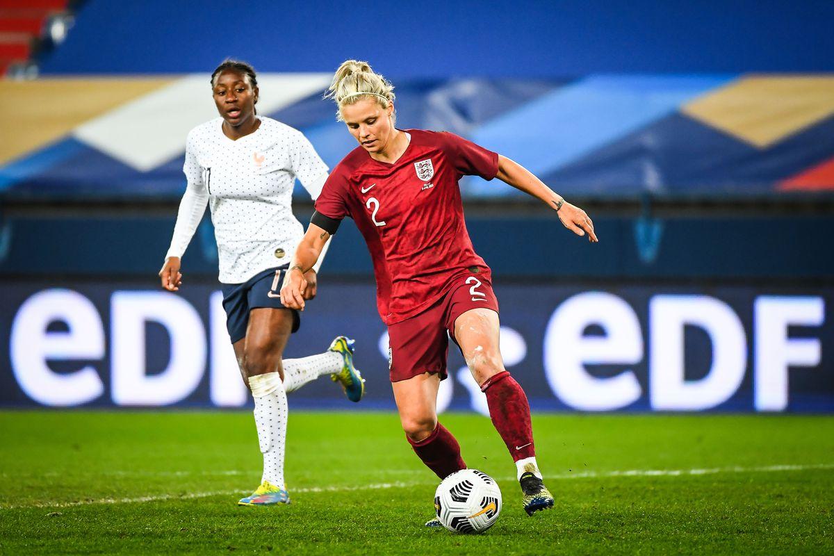 France v England - International friendly women's football