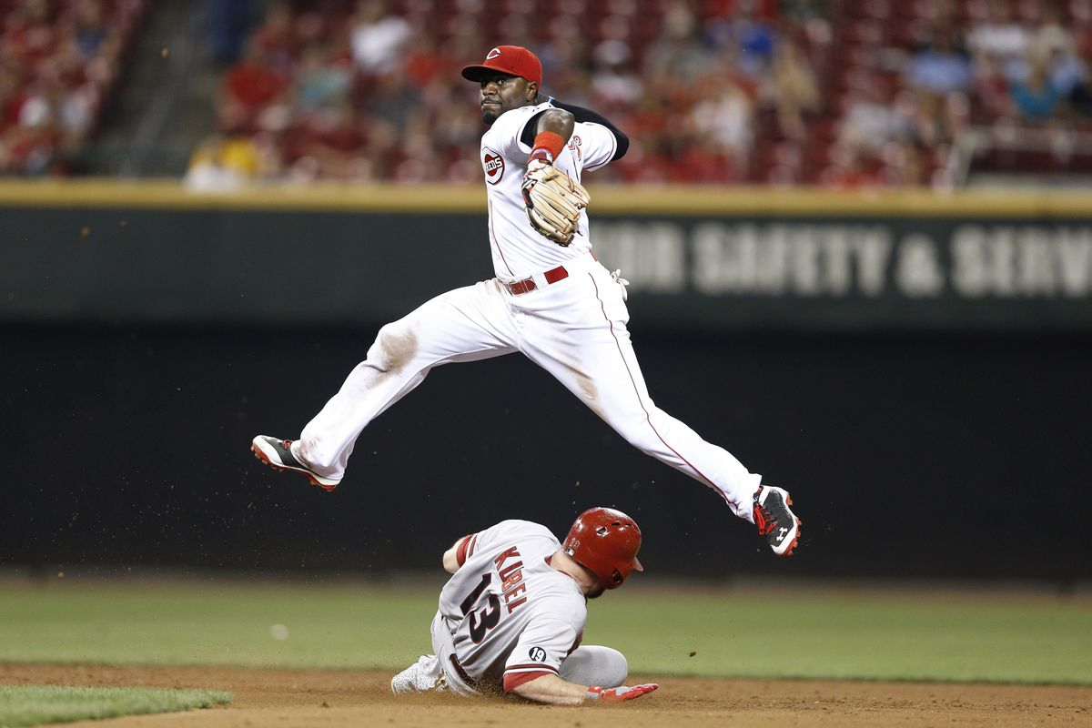 Brandon Phillips: A wizard in the field but not with his words.