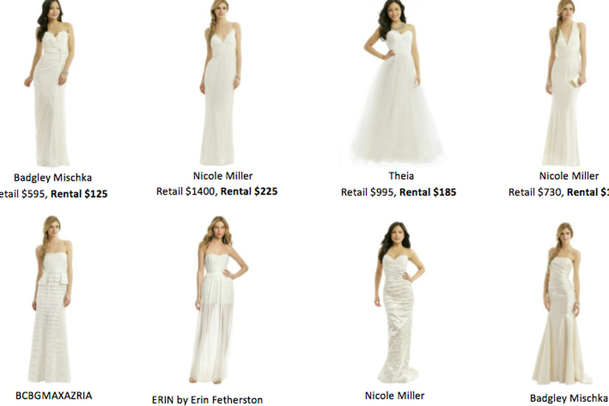 Brilliant: Rent the Runway Goes into the Bridal Business - Racked Vegas