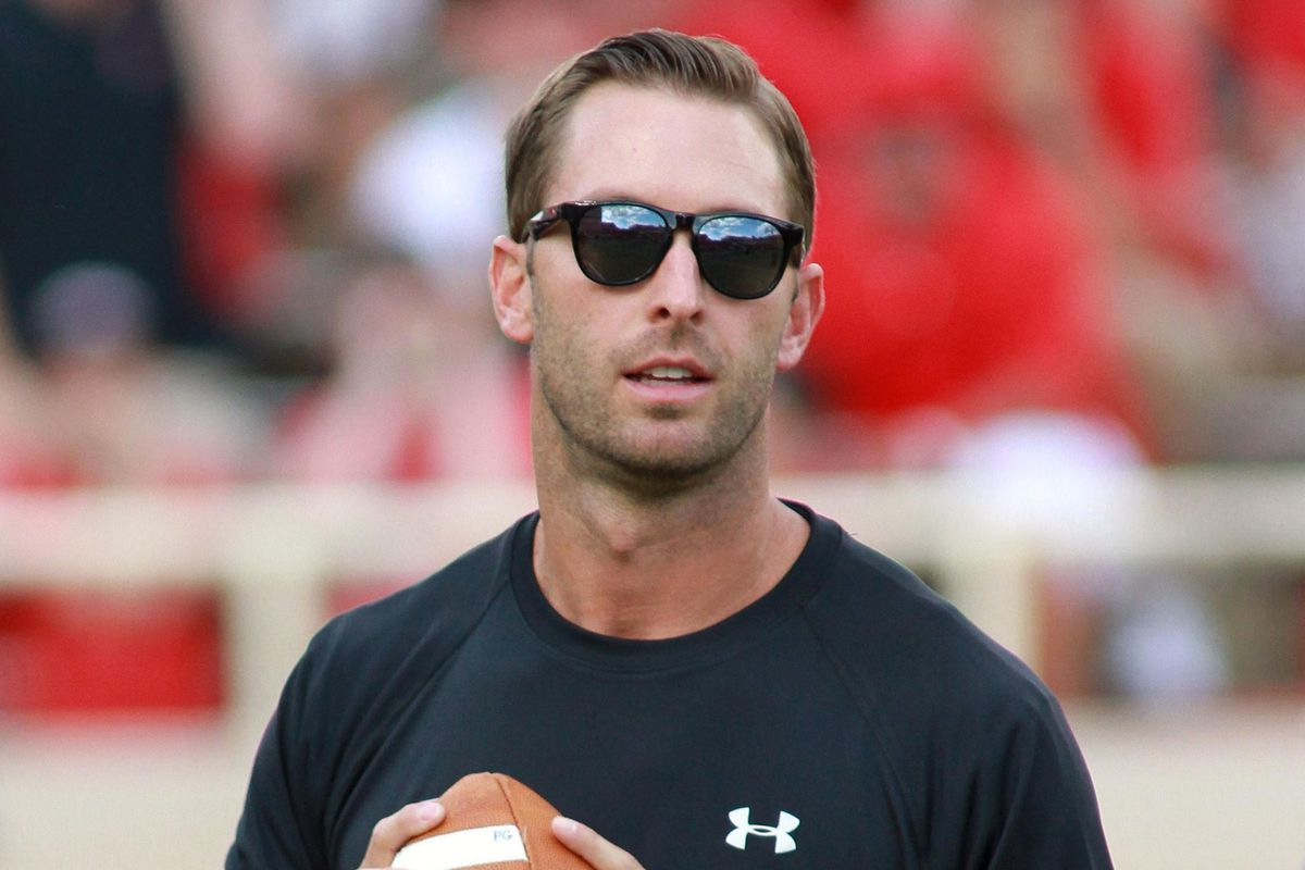 Former Texas Tech quarterback and current head coach Kliff Kingsbury has taken his team to new heights this season.