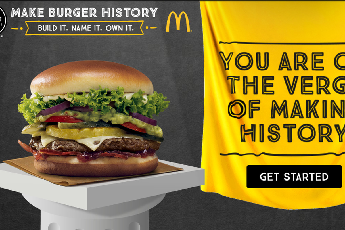 Mcdonalds New Sandwiches 2020 McDonald's Lets the InterBuild Their Own Burgers, Chaos Ensues