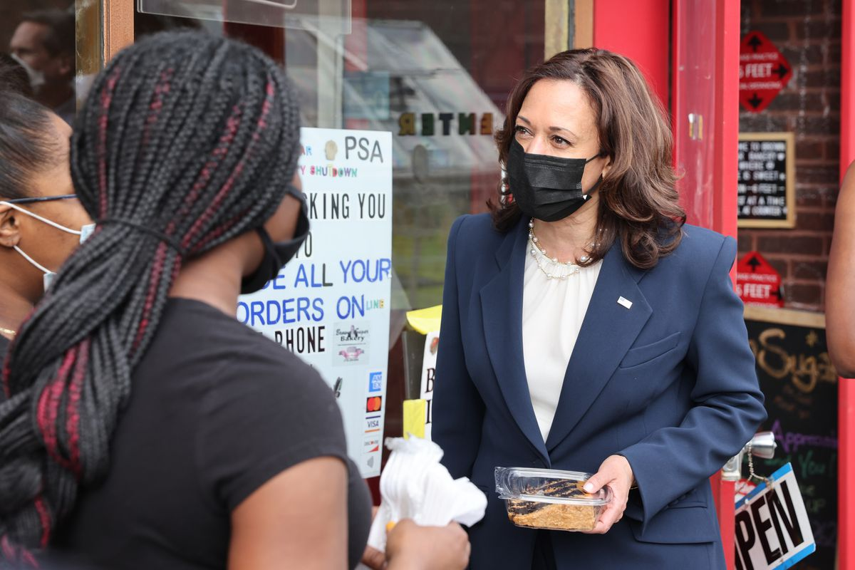 Vice President Kamala Harris Visits Chicago To Promote Vaccine Equity