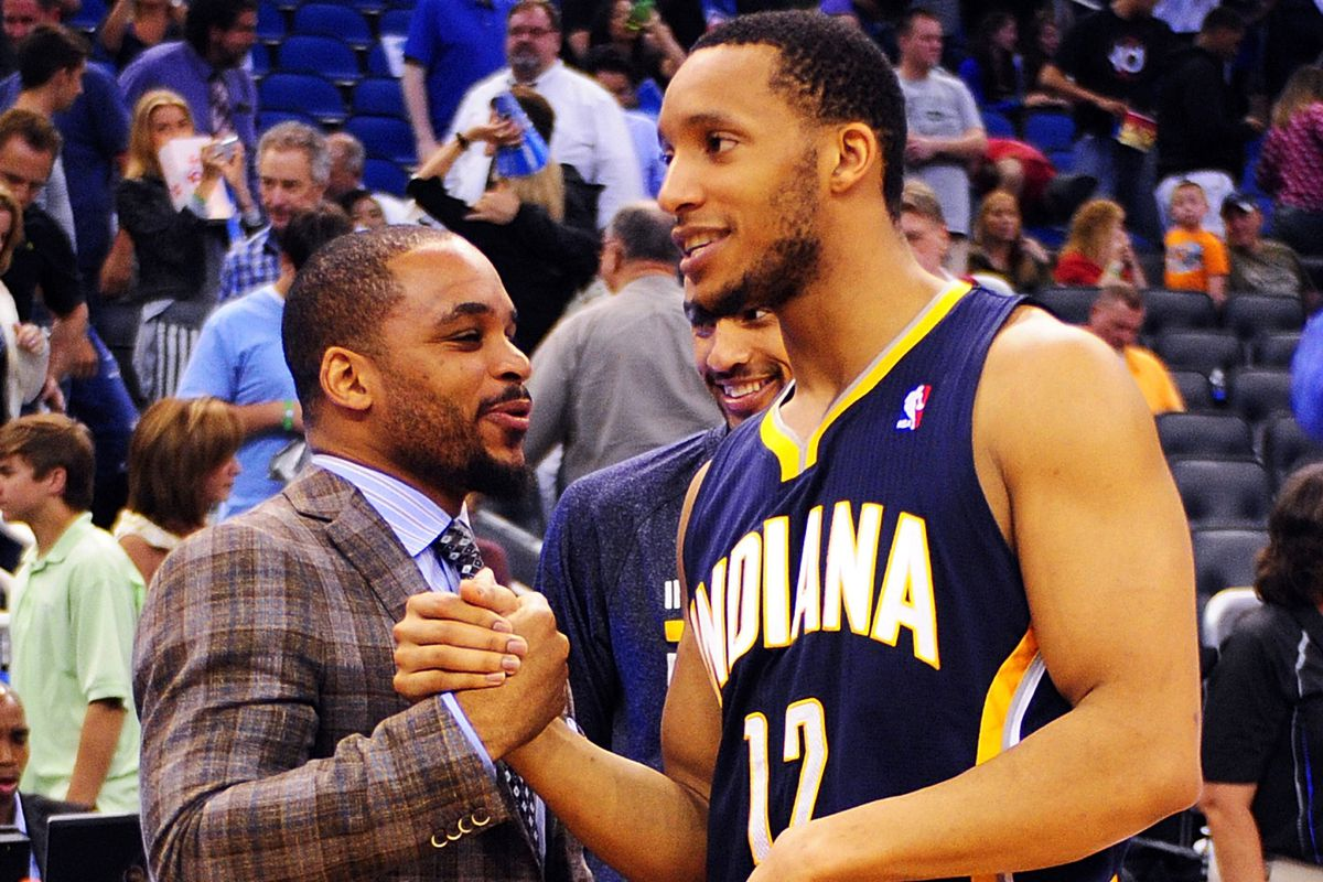 Jameer Nelson and Evan Turner