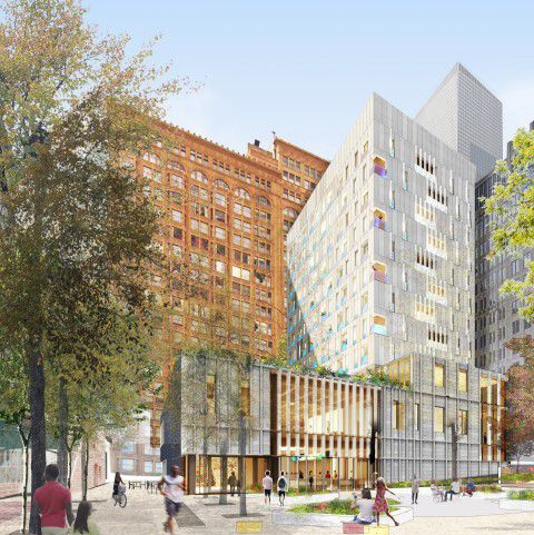 The Inspiration Exchange plan for the South Loop.