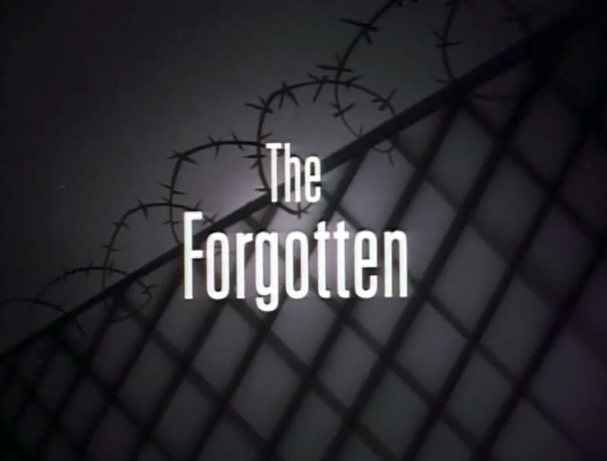 """""""The Forgotten"""" title card from Batman: The Animated Series"""
