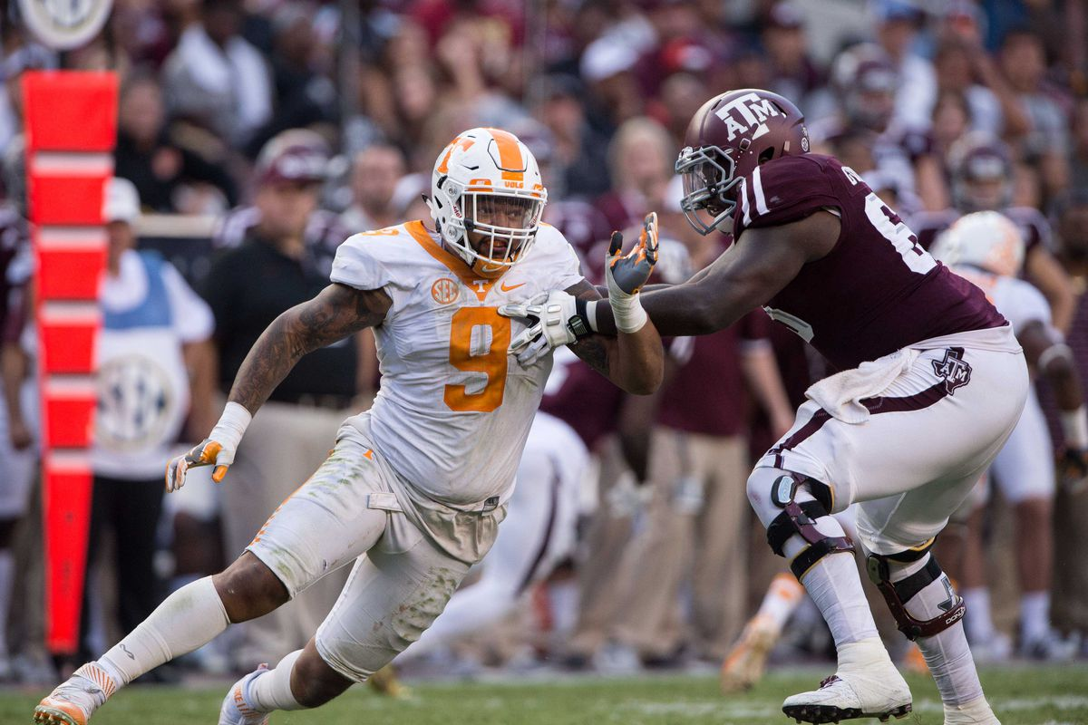 NCAA Football: Tennessee at Texas A&M